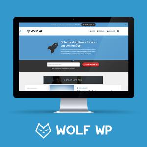 Wolf WP – Tema WordPress semelhante ao Épico,🎯 Otimizado para SEO