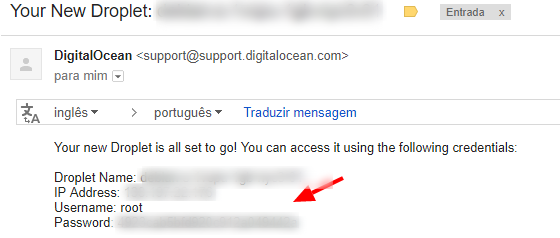 tutorial criar vps DigitalOcean 7