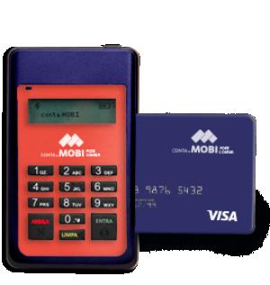 maquininha de cartão conta mobi