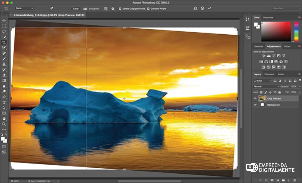 photoshop editor de imagens e fotos para wordpress