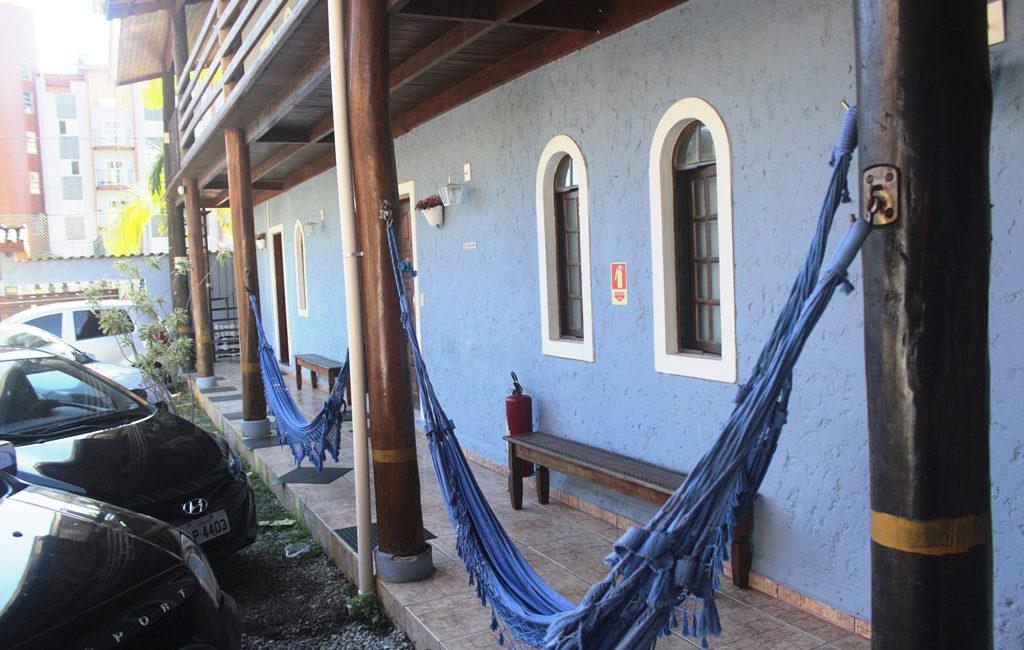 Pousada Ubatuba varanda