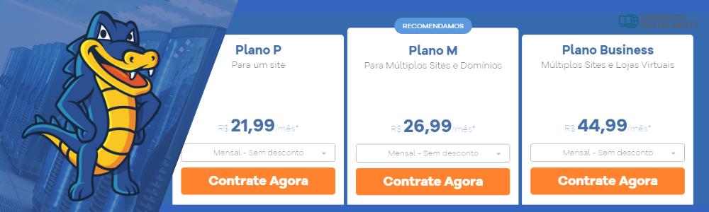 Preços e planos Hostgator Brasil