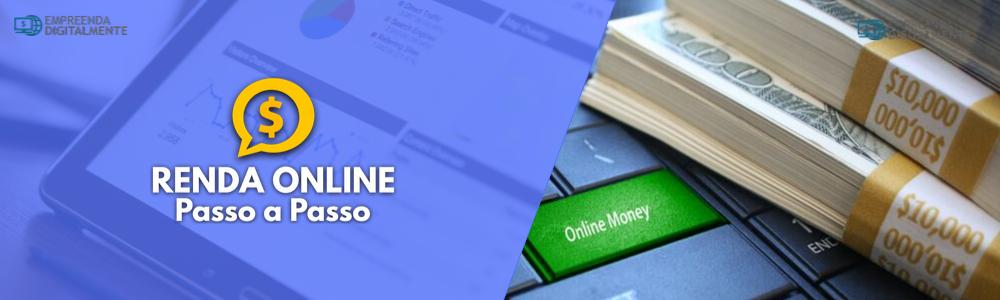 o que é o curso renda online passo a passo